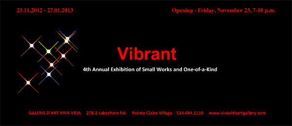 Vibrant Small Invitation 2012
