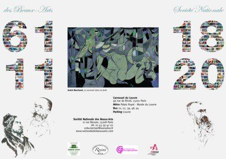 Salon de la Societe Nationale des Beaux Arts 2011