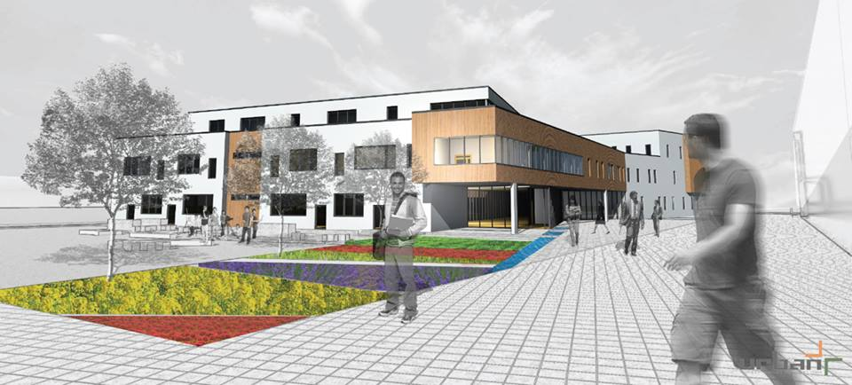 Music & art school - Year: 2013Location: Gjilan, KosovoClient: Municipality of GjilanMain features: • Energy efficiency, Natural materials, Green roof.• Universal design- inclusion of persons with special needs