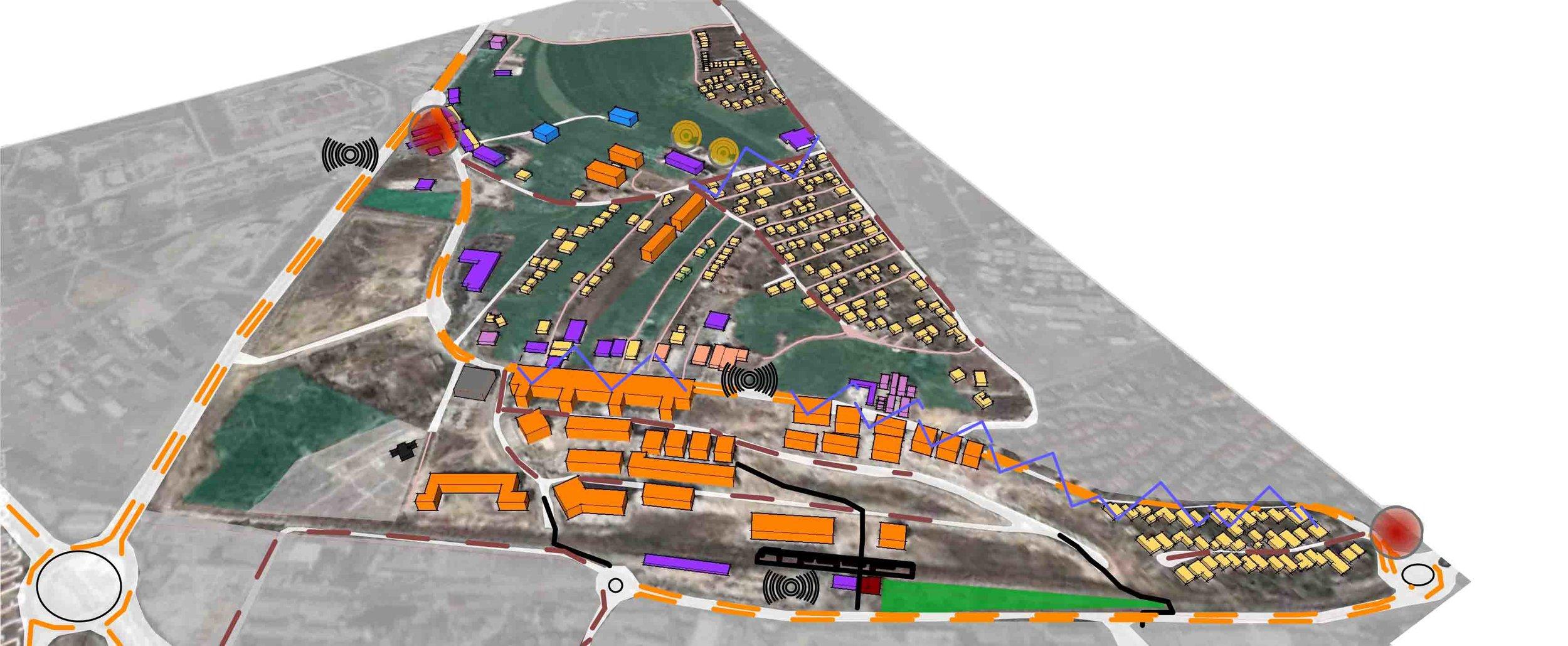 arberia 3 - Year: 2013-2015Location: Prishtina, KosovoClient: Municipality of PrishtinaUrban Regulatory Plan