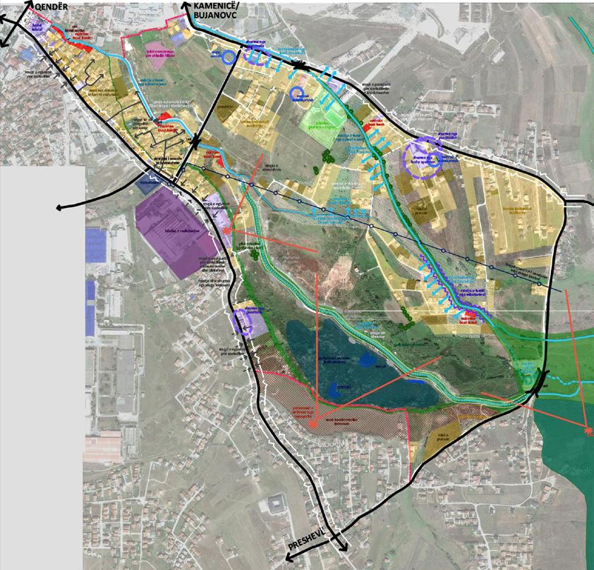 livadhet e arapit - Year: 2012-2013Location: Gjilan, KosovoClient: Municipality of GjilanUrban Regulatory Plan