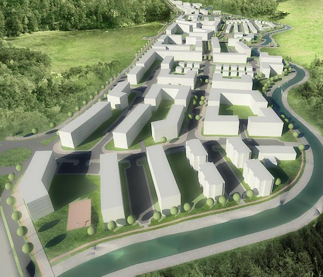 tirana - tranzit - Year: 2006-2007Location: Gjakova, KosovoClient: Municipality of GjakovaUrban Regulatory Plan