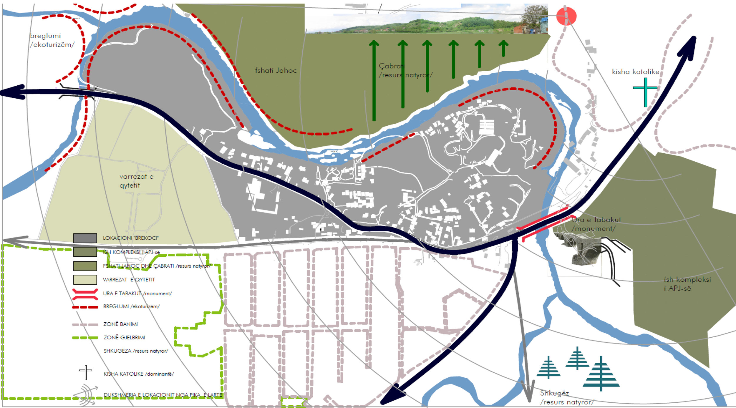 Brekoc - Year: 2006 - 2007Location: Gjakova, KosovoClient: CDF & Municipality of IstogUrban Regulatory Plan