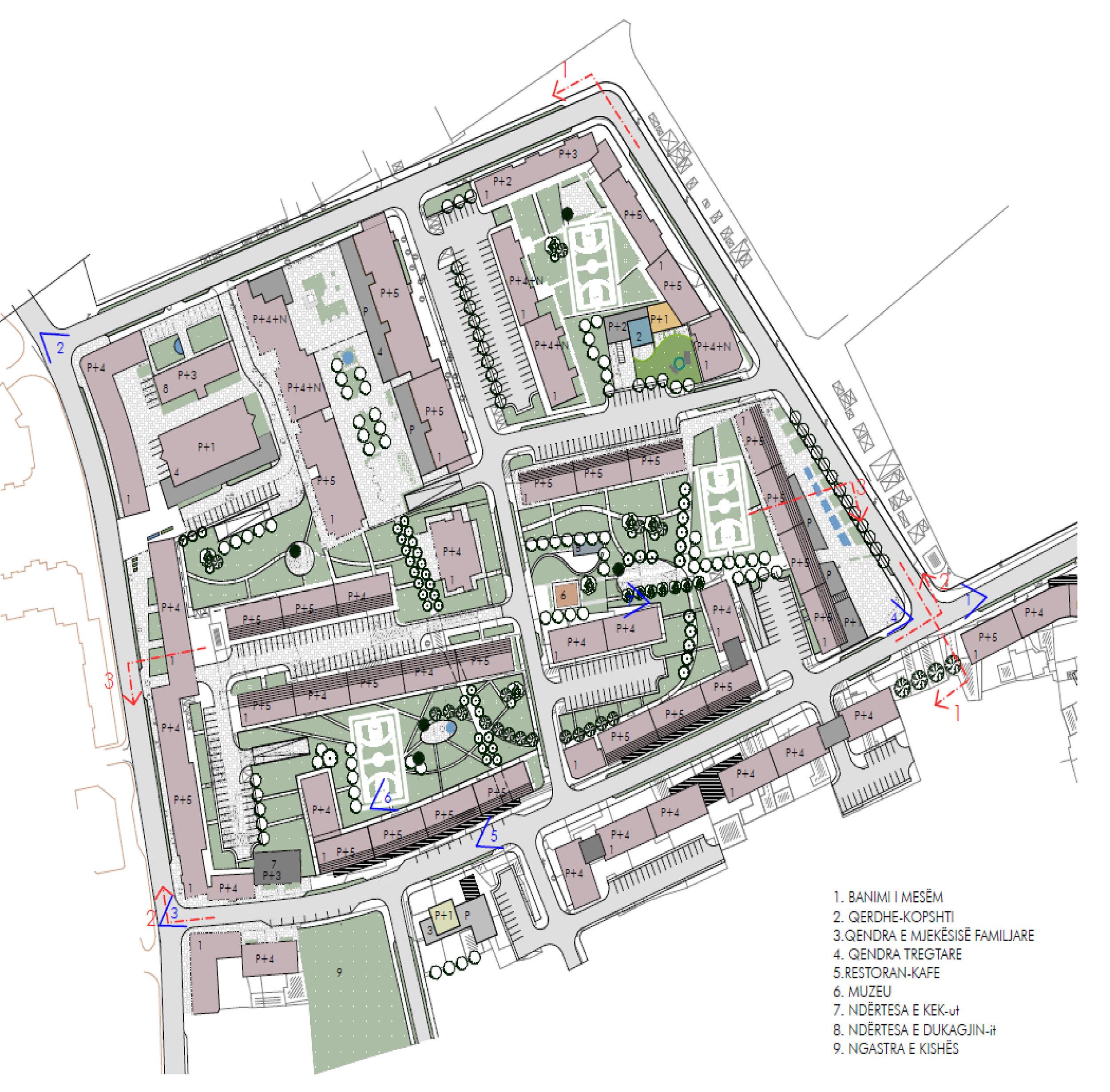 Mbreteresha teute - Year: 2004 - 2005Location: Gjakova, KosovoClient: Municipality of GjakovaMunicipal Development Plan