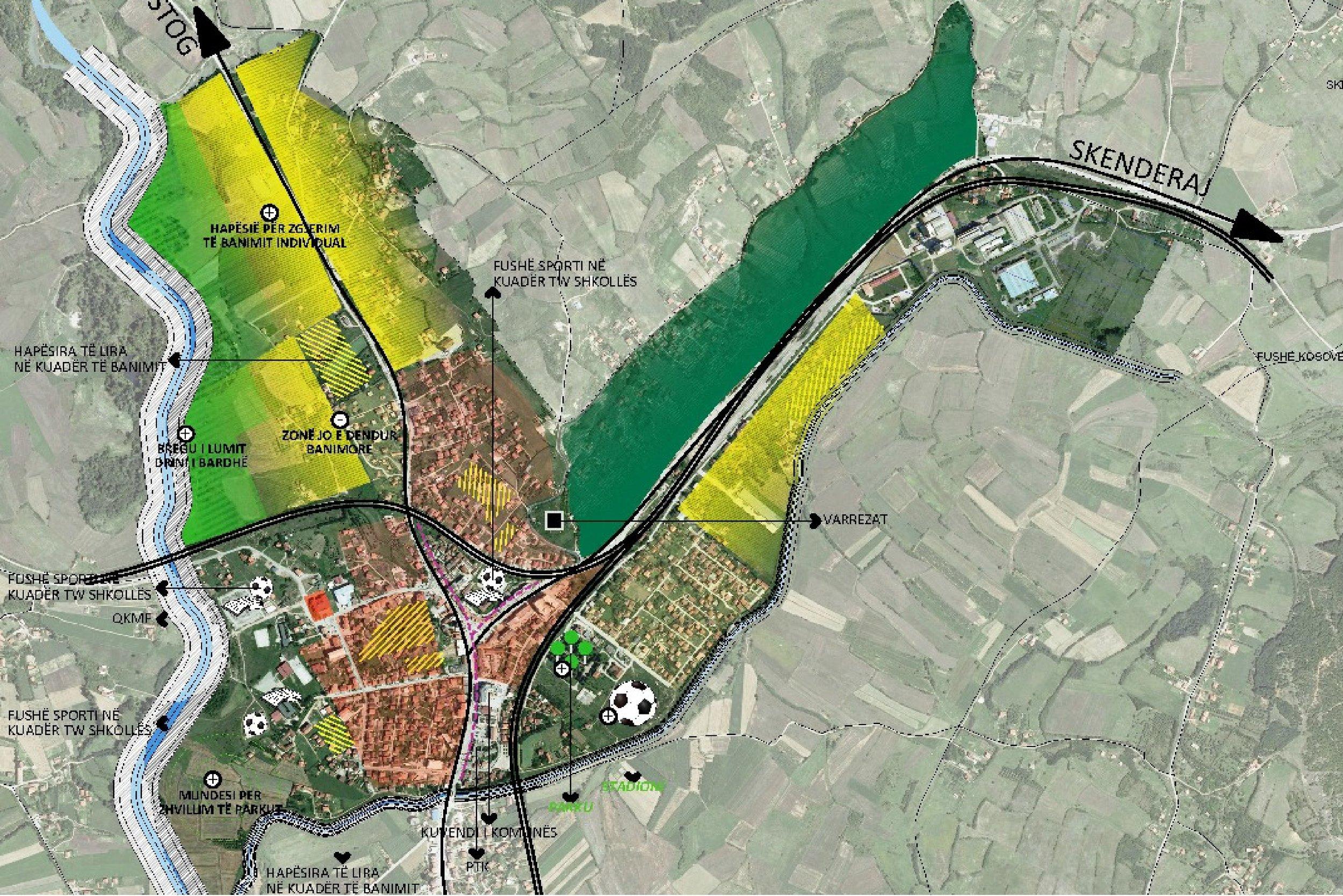 klina - Year: 2015Location: Klina, KosovoClient: Municipality of KlinaUrban Regulatory Plan