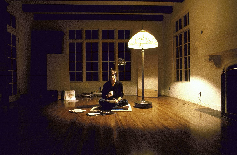 * De lege woonkamer van Steve Jobs. Los Altos. 1982.