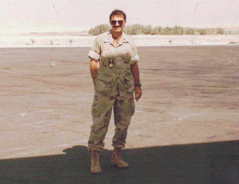 Cdr Tzitzura South West Asia Deployment- 1996