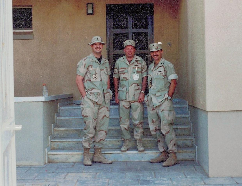 Cdr Tzitzura South West Asia Deployment- 1997