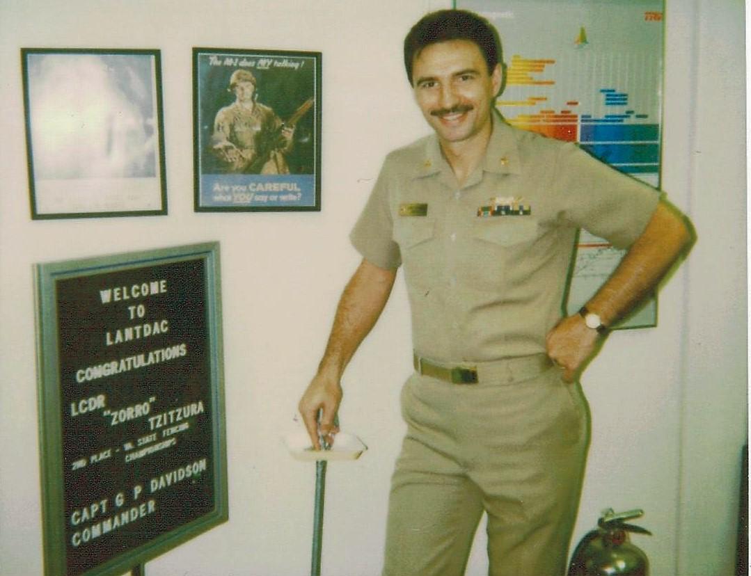 Lcdr Tzitzura (EW Director LANTDAC)- 1989