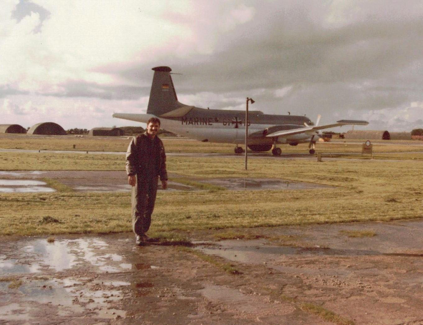 Lt Tzitzura Germany Deployment- Oct 1987