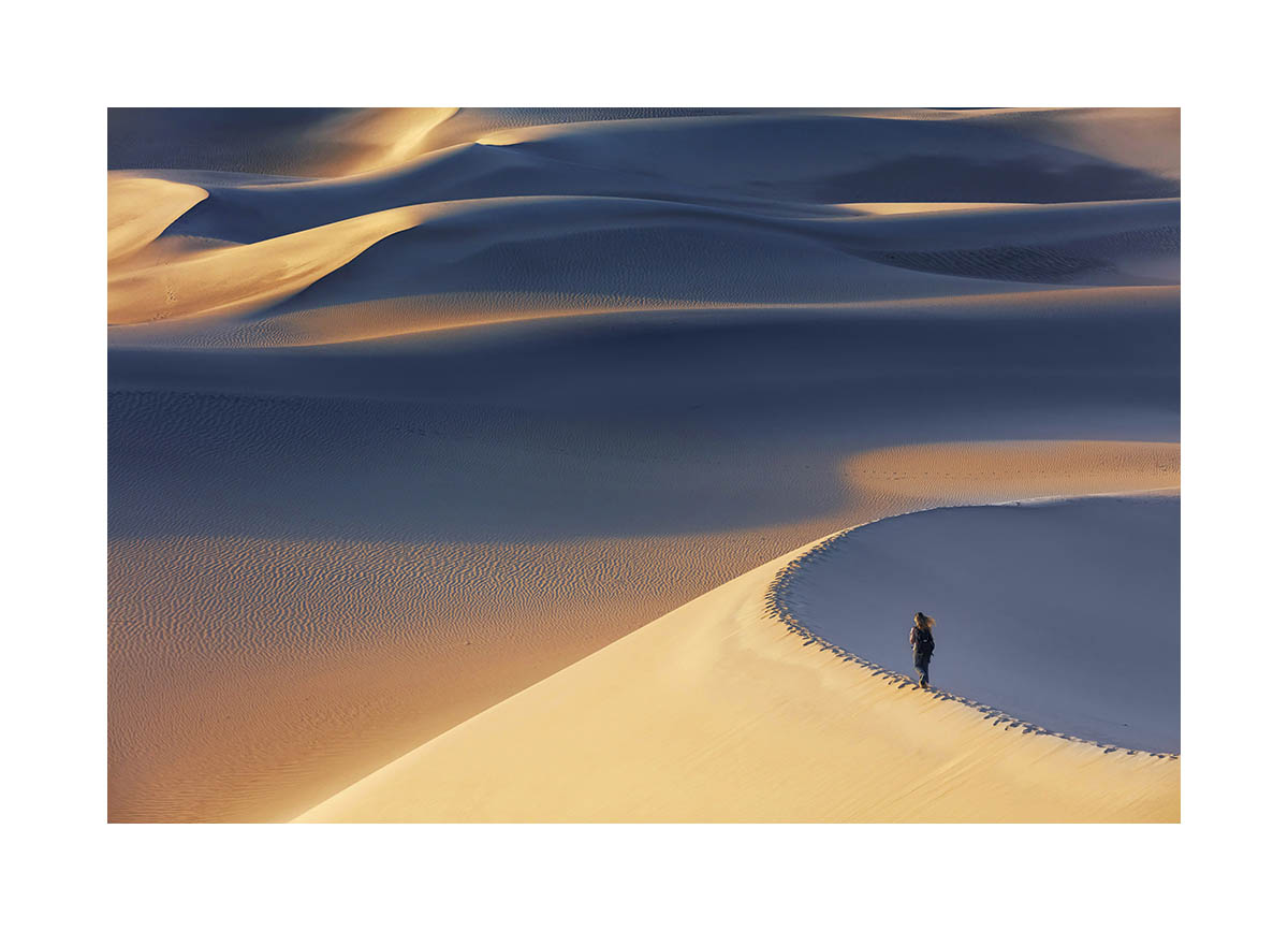 Mesquite sand dunes, Death Valley National Park