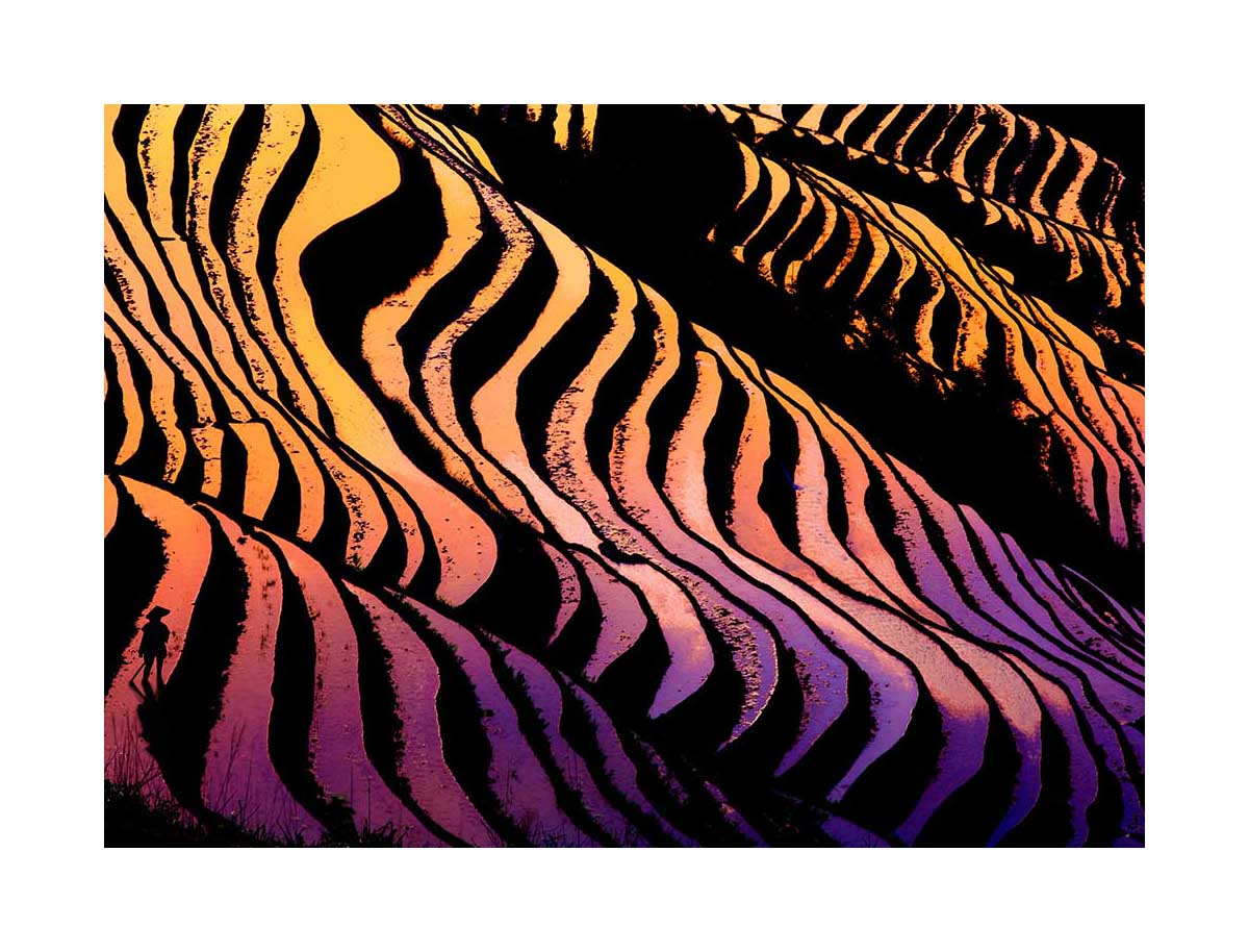 Long Ji rice terraces, China