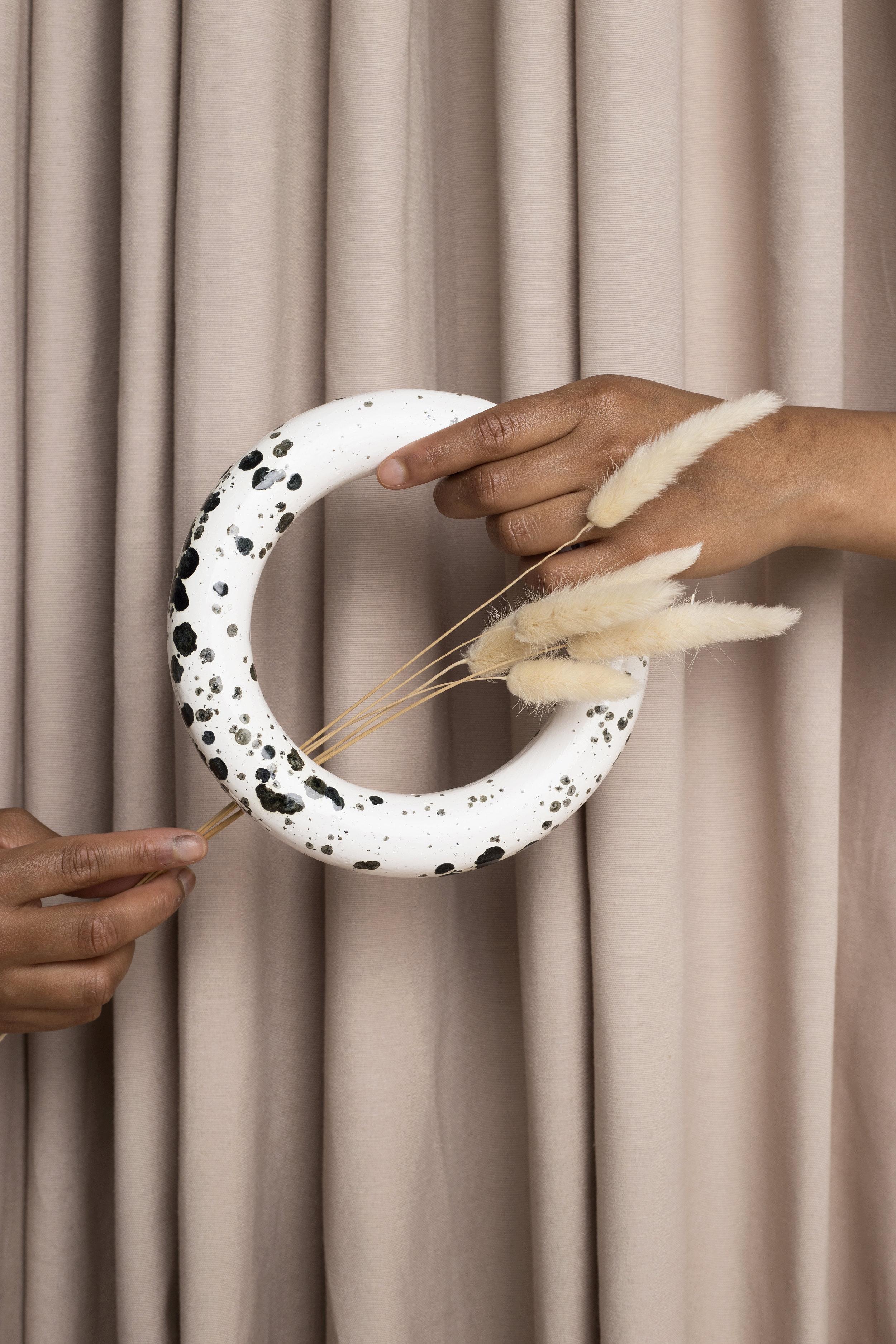 Splecked ring  Set: La Cueva Studio & Marcela Luna  Photo: Erika Anes