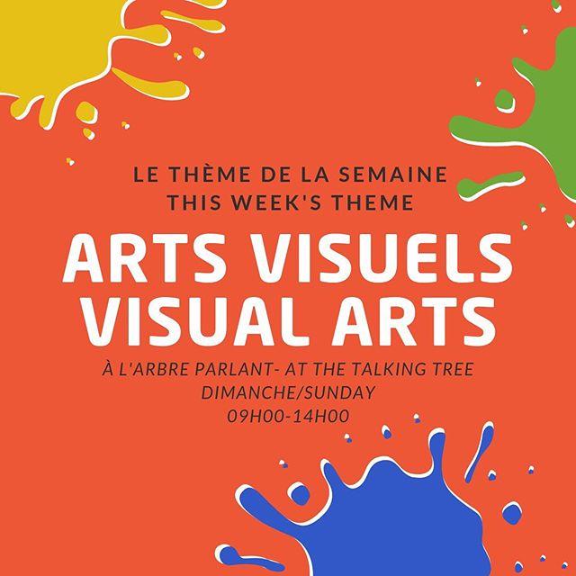 """*ENGLISH FOLLOWS*  JOURNÉE THÈME CE DIMANCHE: Arts Visuels!  Vous aimez les légumes? Vous aimez l'art? Si oui, venez nous voir ce dimanche au Marché de Shediac pour notre journée thème sur les arts visuels intitulée j(ART)din! Nous aurons des activités sous l'arbre parlant. C'est ouvert à tous et il aura même des prix à gagner!  À Bientôt Picasso! 🎨🥕 #jardin #art #communauté  THEME ON SUNDAY: Visual Arts!  Do you like veggies? Do you like art? In that case comme see us at the Shediac Market this Sunday for our visual art themed activities! Meet us under the Talking Tree for our Garden-Art painting session. Open for all ages with prizes to win!  Come say """"hello"""" Kahlo! 🎨🥕 #garden #art #community"""