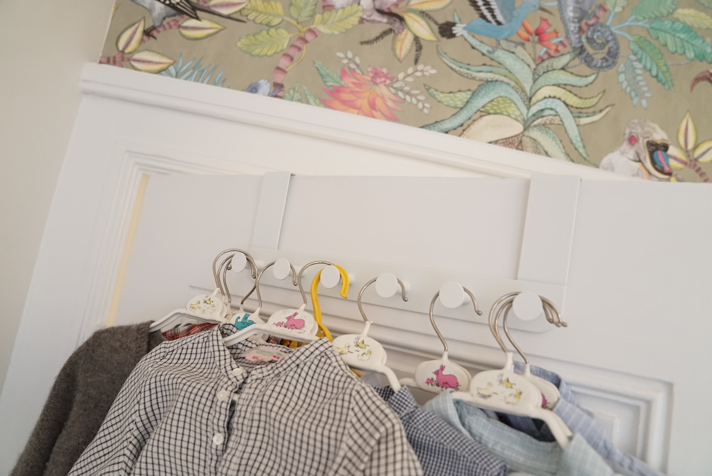 Little shirts on little hangers. Bonpoint is one of Bea's favourite kids clothing brands.