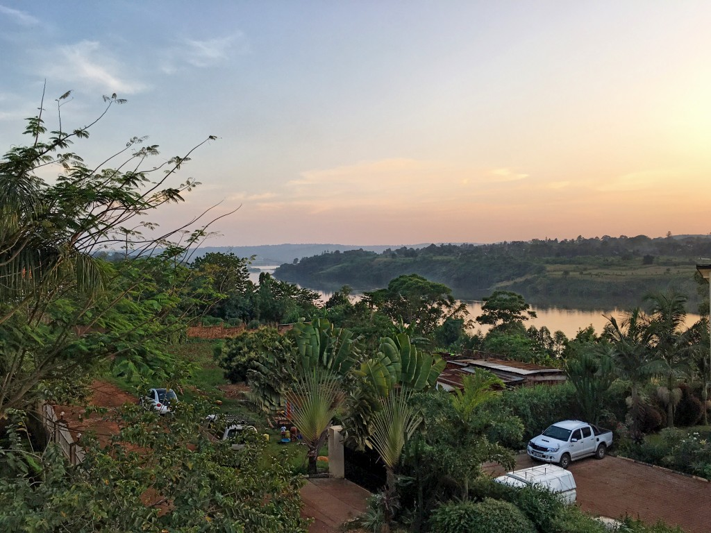 After a long work day there is nothing better than a Ugandan sunset over the Nile.