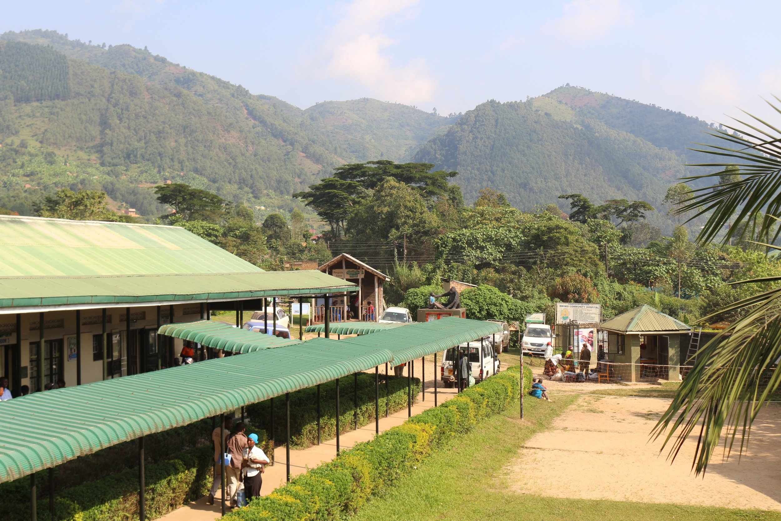 Bwindi Community Hospital, one of the rural health care facilities in Uganda where ITW has introduced an ultrasound program.