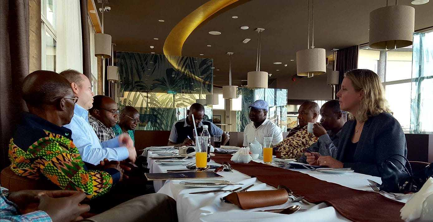 Meetings with Rotary Clubs and Ministry of Health