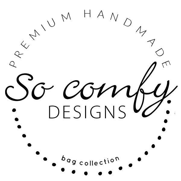 So Comfy Designs Facebook: So Comfy Designs  email: info@socomfydesigns.com