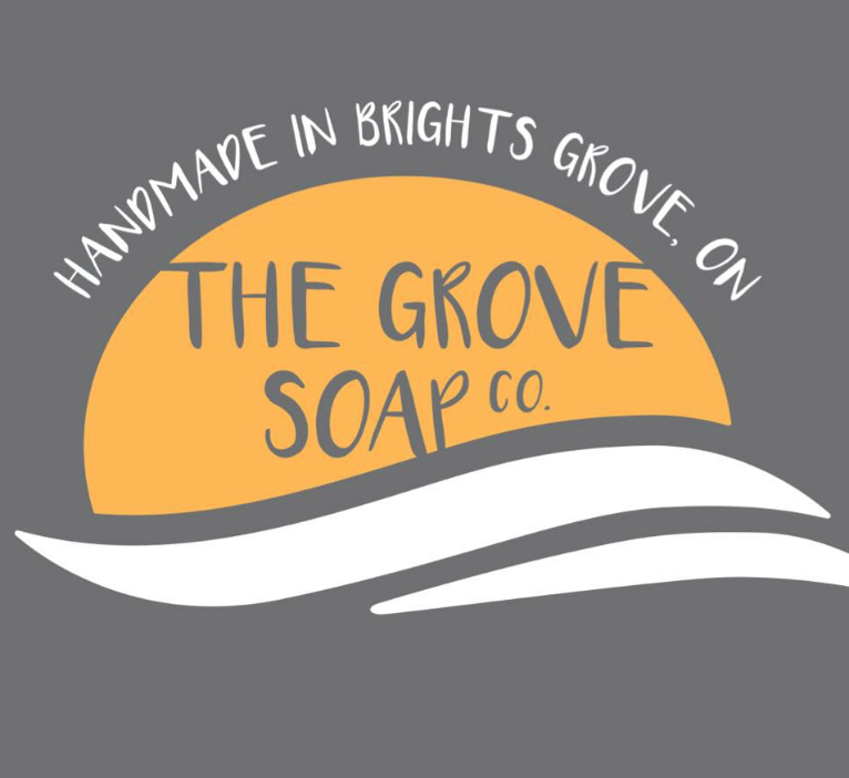 The Grove Soap Co. Facebook or Instagram: The Grove Soap Co. email:  thegrovesoapco@gmail.com
