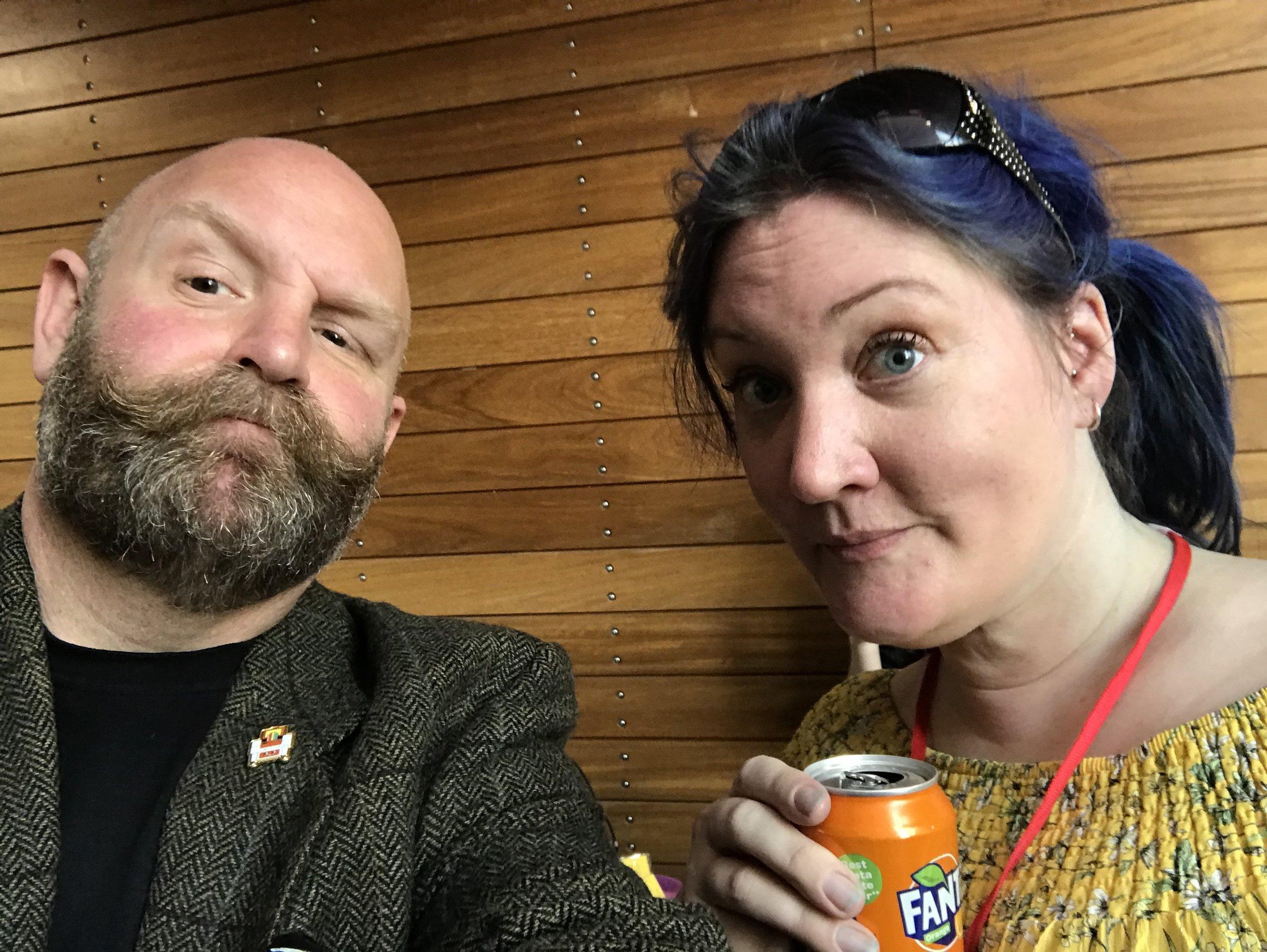 Tanya & Dominic at Pi Wars