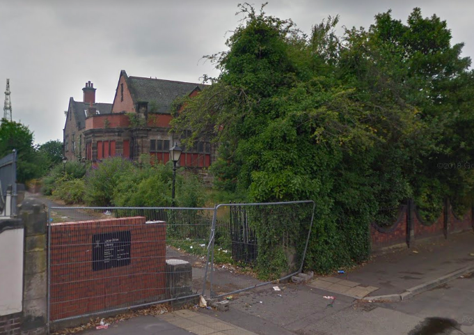 Lister Drive Library, Tuebrook, Liverpool - due to be renovated as flats or something. Very sad.