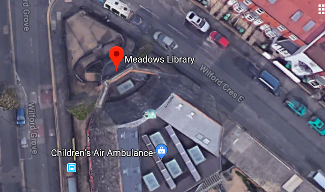 The Nottingham Library Southern Branch - Meadows Library on Google Maps