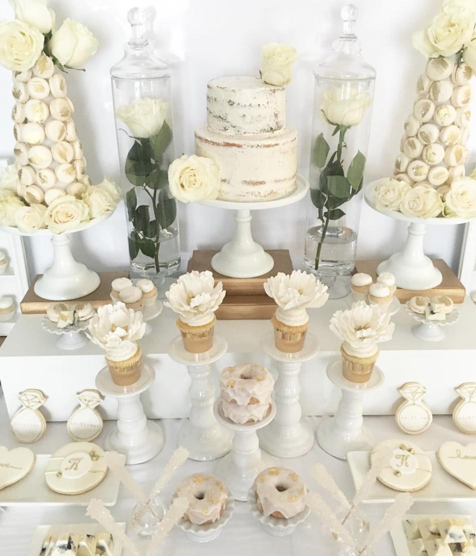 Dante Kristina's Wedding Sweet Table