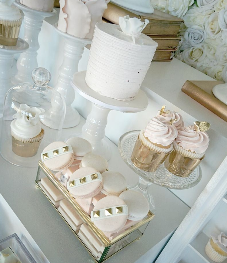Miranda's Bridal Shower Sweet Table