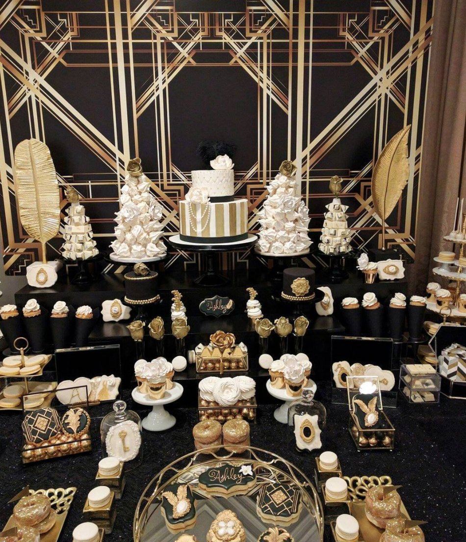 Ashley's Bridal Shower Sweet Table