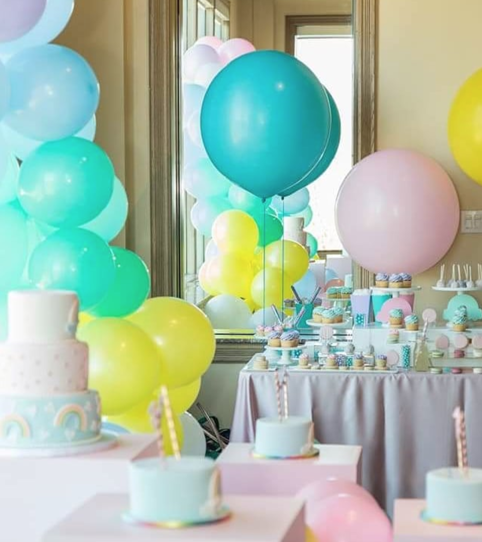 Harper's First Birthday Sweet Table