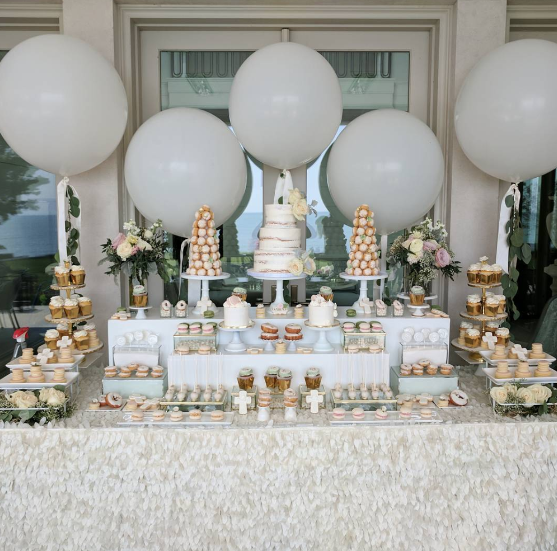 Harper's Baptism Sweet Table