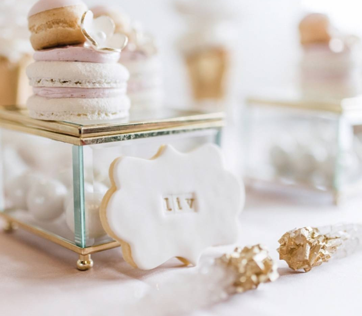 Olivia's First Communion Sweet Table