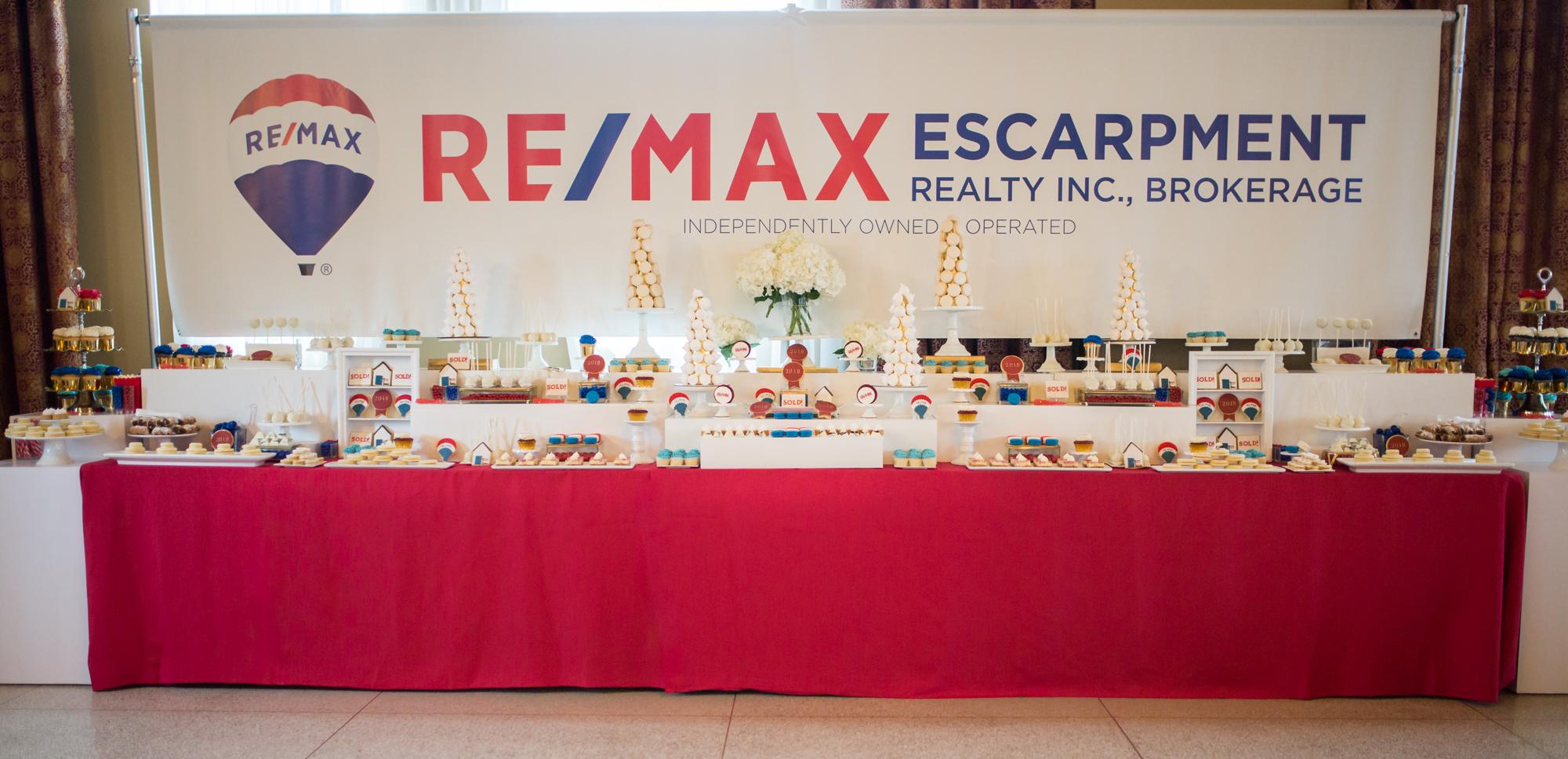 RemaRemax Escarpment Realty Corporate Sweet Tablex-Escarpment-Realty-Corporate-Event