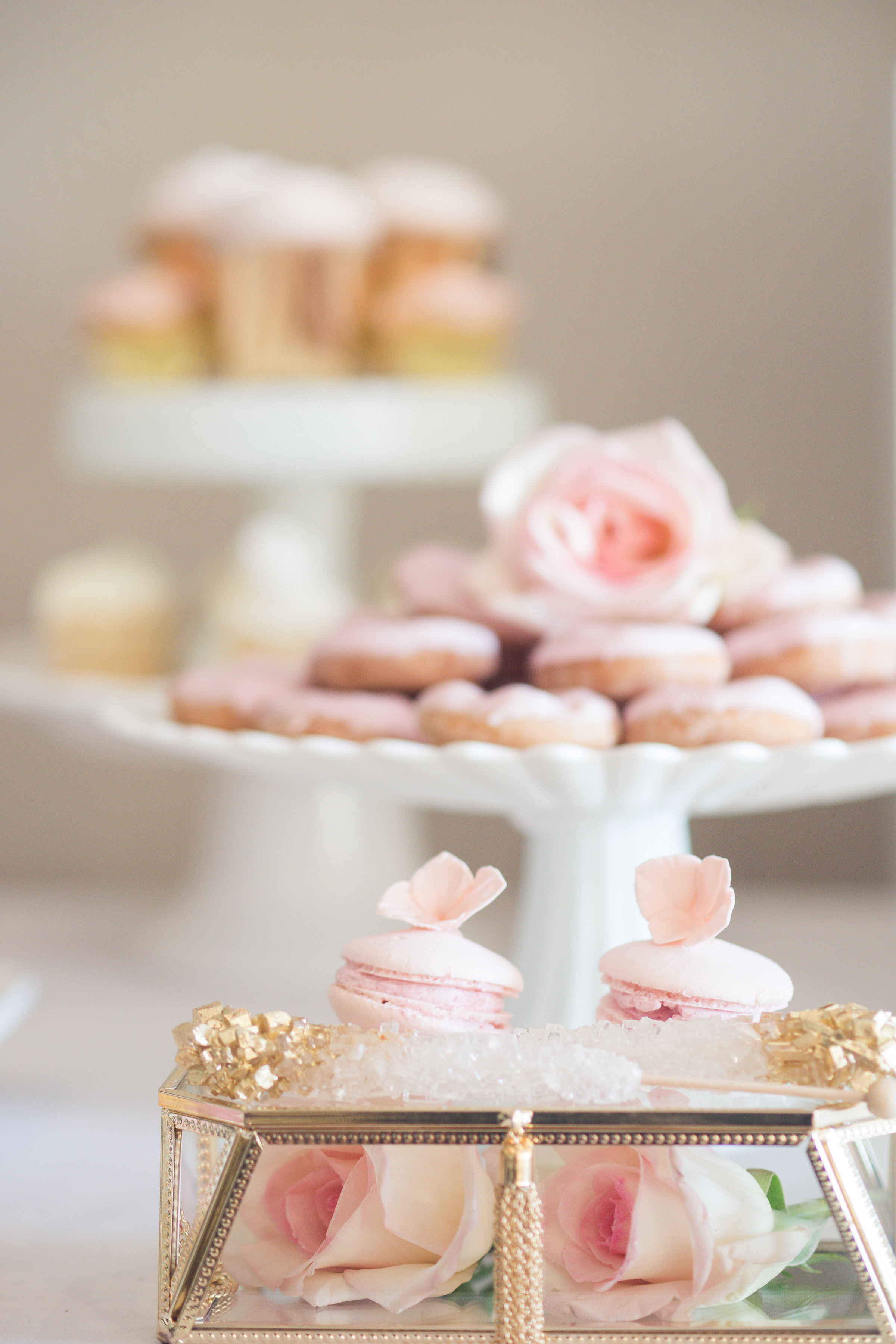 Kristina's Bridal Shower Sweet Table