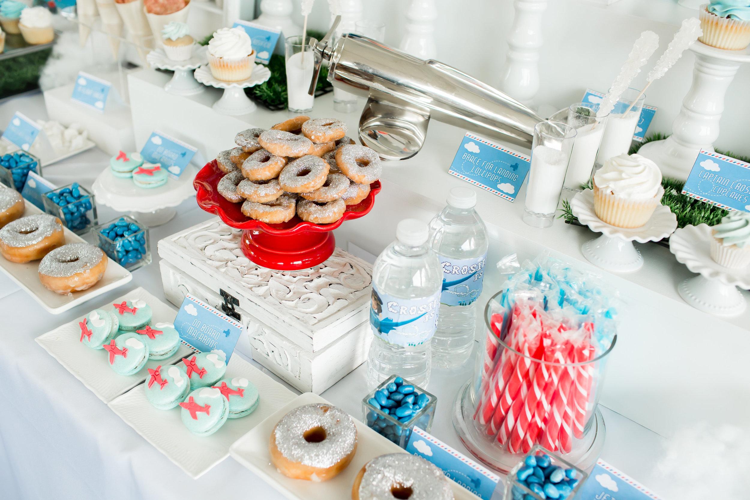 Cross' Third Birthday Sweet Table