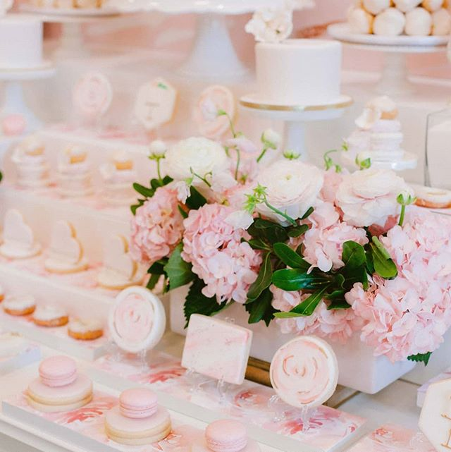 Incorporating the beautiful floral stationery design by @simplysealed made for a beautiful cohesive look for Danielle's sweet table. Photography - @kurtzorpia  Planning and styling - @shaw_events  Floral Design - @suegallodesigns  Decor and Tabletop items - @simplybeautifuldecor  StationeryDesign- @simplysealed  Dessert Table - @_theartofsweets_  Favours - @thedessertroom  Venue - @white_oaks  Bride - @dcommissohealth