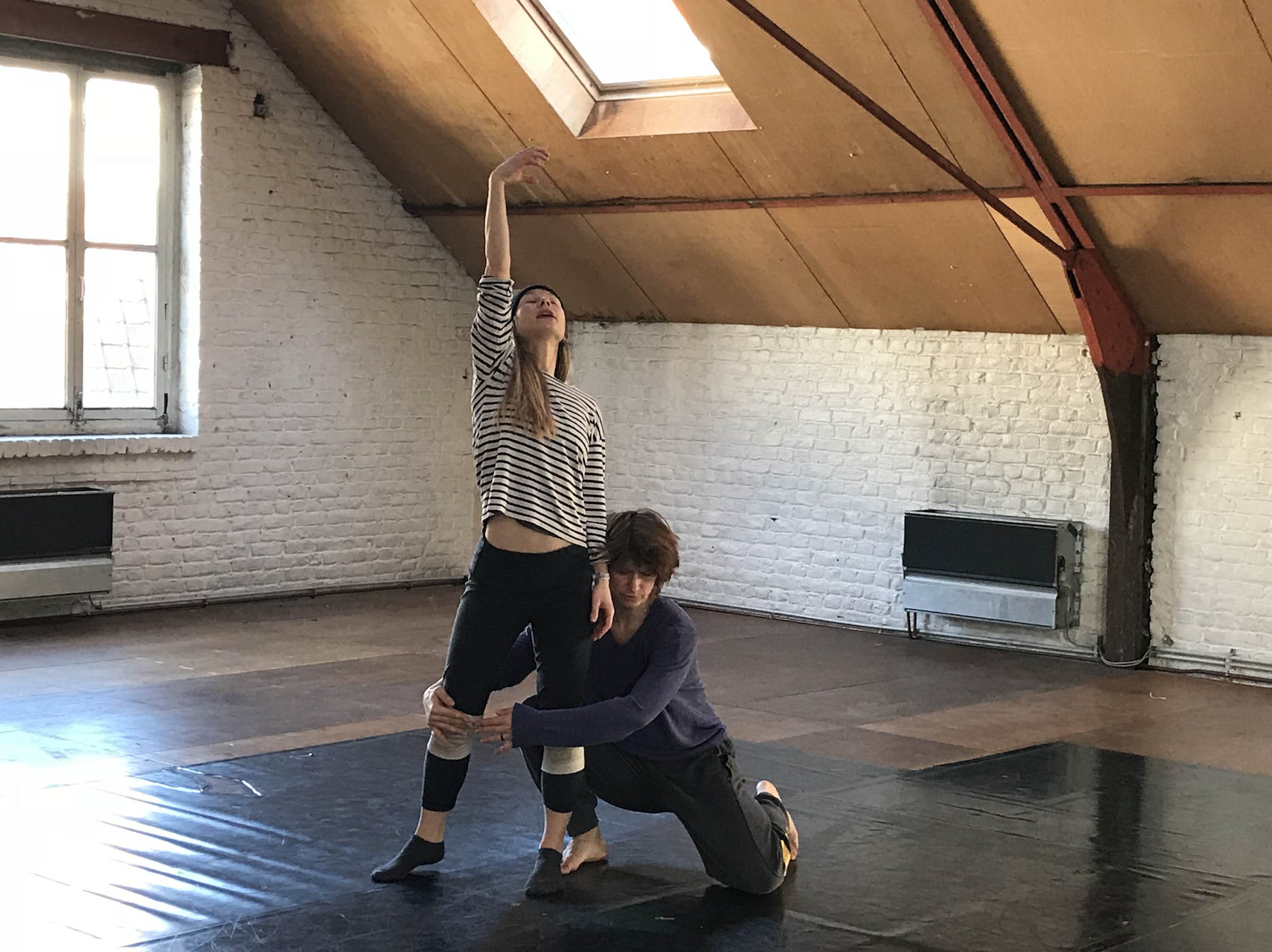 D'Arquian and Doehler re-shaping choreography - 14 February 2018