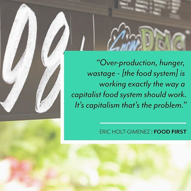 "When an organization puts profits before people, that's when capitalism takes an evil turn. Such is the case with our food system, which is ""working as it should"", as Eric Holt-Gimenez (Director of Food First) puts it. ⠀⠀⠀⠀⠀⠀⠀⠀⠀ ⠀⠀⠀⠀⠀ ⊗ Leafy Greens, in particular, are over-produced primarily in California and Mexico, then they sit in transit for days, traveling as much as 2000 miles to reach your table ⠀⠀⠀⠀⠀ ⊗ The workers in these locations don't always have the most sanitary conditions, which is one reason why we saw E-coli outbreaks several times in 2018 ⠀⠀⠀⠀⠀ ⊗ The distance between farms and tables plus a mix of unequal access and overpricing causes food insecurity ⠀⠀⠀⠀⠀⠀⠀⠀⠀ ⠀⠀⠀⠀⠀ It may be a 'working food system', but it doesn't 'work' for us. We think this can change…it has to change. ⠀⠀⠀⠀⠀⠀⠀⠀⠀ ⠀⠀⠀⠀⠀ What do you think? ⠀⠀⠀⠀⠀⠀⠀⠀⠀ ⠀⠀⠀⠀⠀ ⠀⠀⠀⠀⠀⠀⠀⠀⠀ ⠀⠀⠀⠀⠀ . . . . . #Canmore #Alberta #SmallBusiness #AlbertaBusiness #SMB #AGBusiness #AgTech #Agriculture #AgriTech #Hydroponics #AlbertaTourism #CanadianBusiness #BowValley #FarmToTable #FoodSystem #Sustainability #BeTheChange #KeepItLocal #GoLocal #KnowYourFarmer #Hunger #FoodProduction"