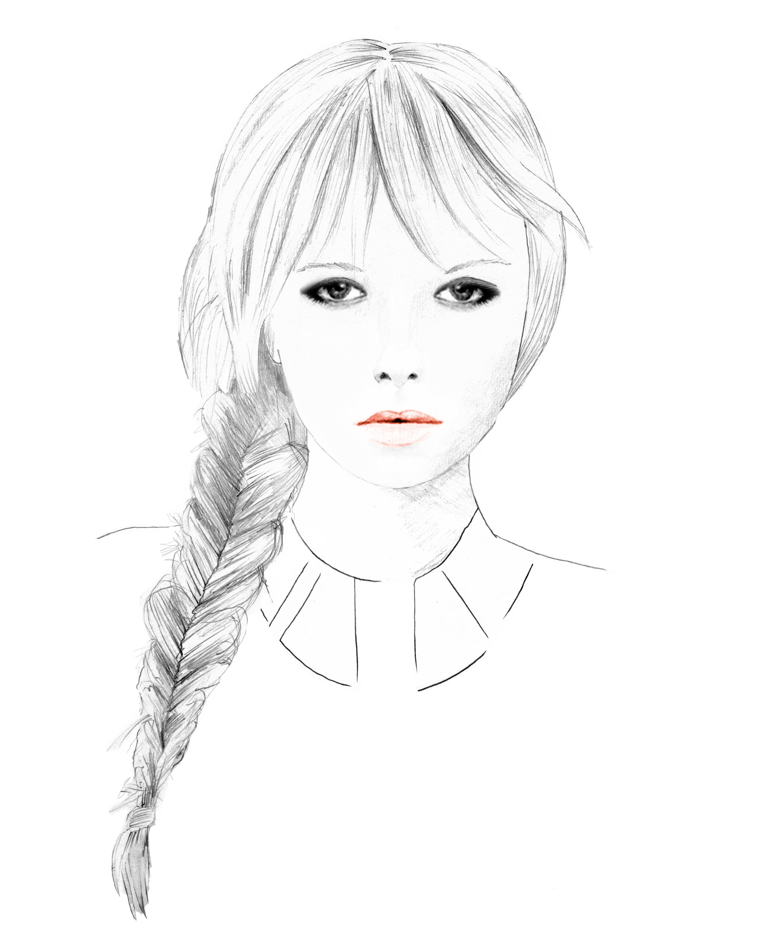 Blotini: Fishtail Braid