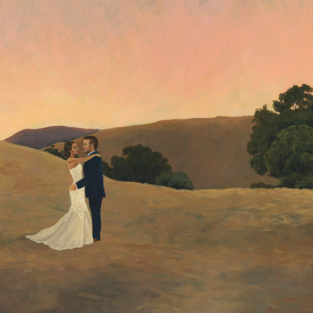 Live Wedding Painting in Cape Town