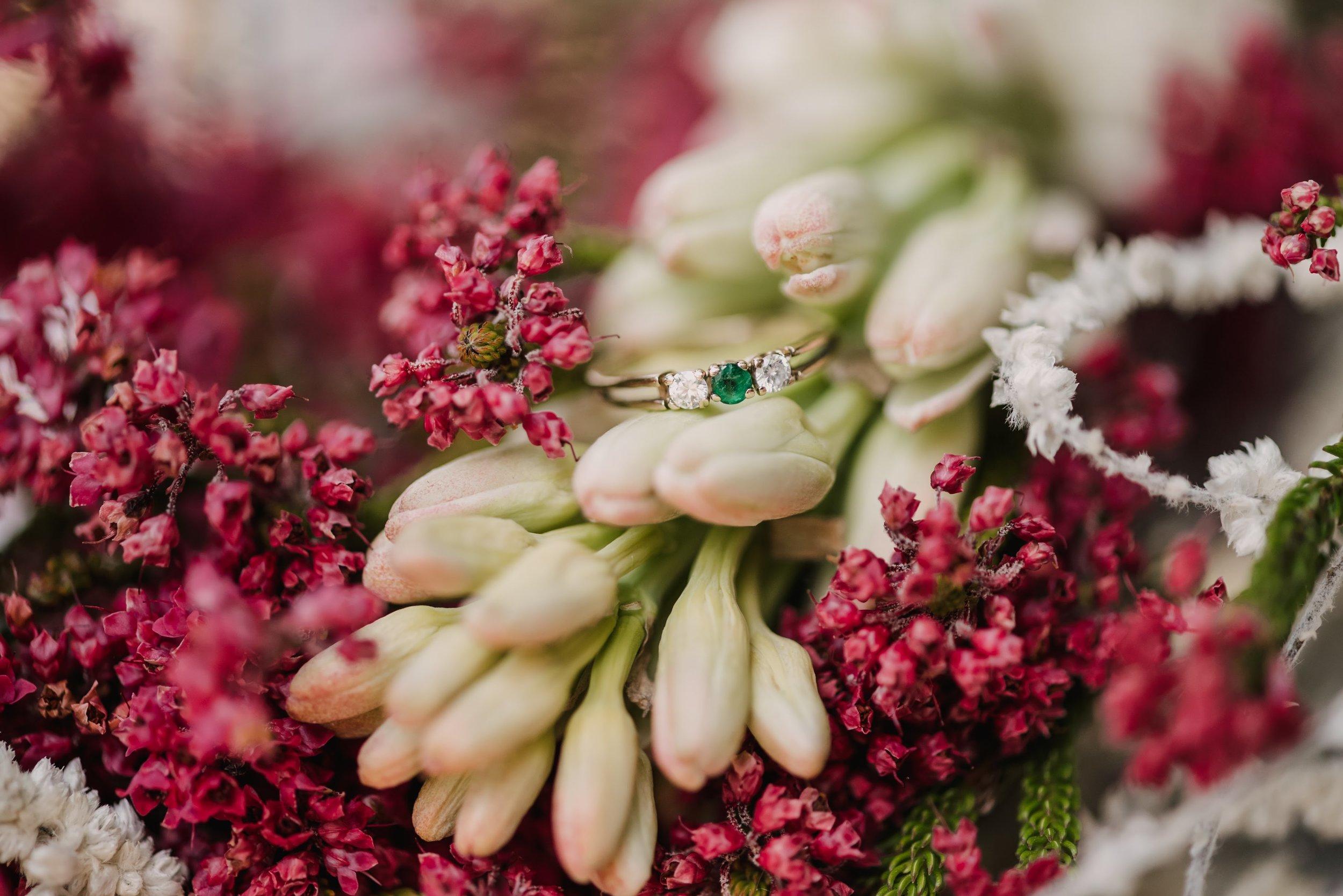 Fall toned florals