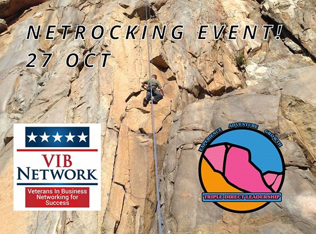 @vibnetwork event for their national conference!  Join us here: https://www.tdleadership.com/open-experiences/netrocking  #leadership #development #growthmindset #explore #adventure #organization #data #climbing #impact