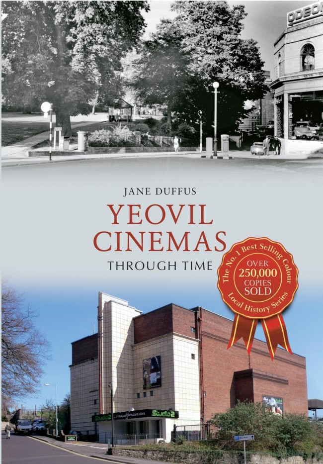 Yeovil Cinemas Through Time (2013) - With digital TV, DVDs, Blu-ray players and internet downloads, there have never been more ways to watch your favourite movies. But not so long ago the only option for film fans was a visit to the local cinema.The first picture house in Yeovil was the Princes Street Assembly Rooms, which was built in 1889 as a general entertainment venue and started screening films in 1896.Jane Duffus takes us on a unique journey through time to see the affect that modern technology has had on the many cinemas that Yeovil once had, and in doing so reveals a rich vein of untapped history about the town. This full colour book will surprise and delight anyone who knows the area.