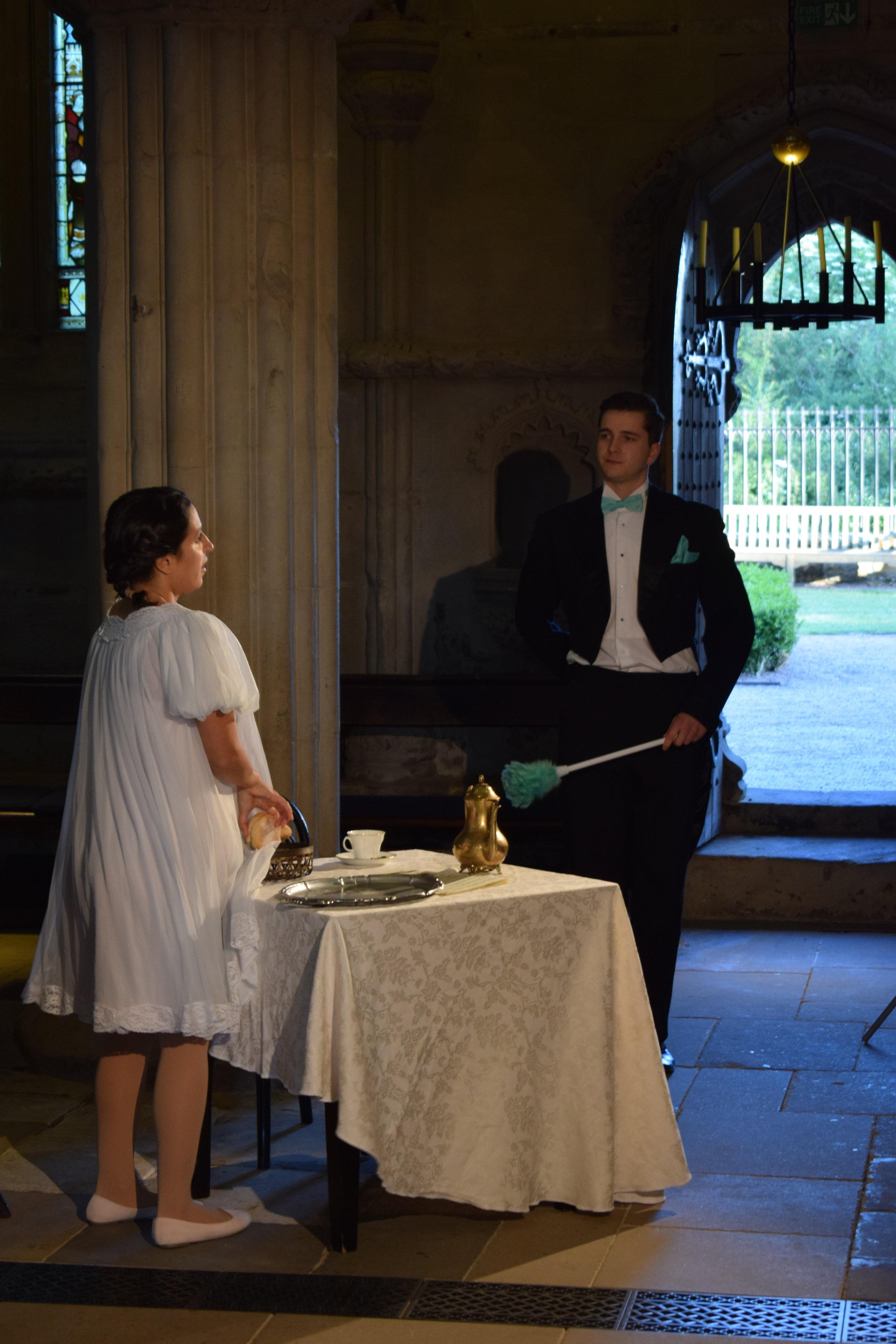 La Scala di Seta , Rosslyn Chapel, 2018. Director: Jeanne Pansard-Besson