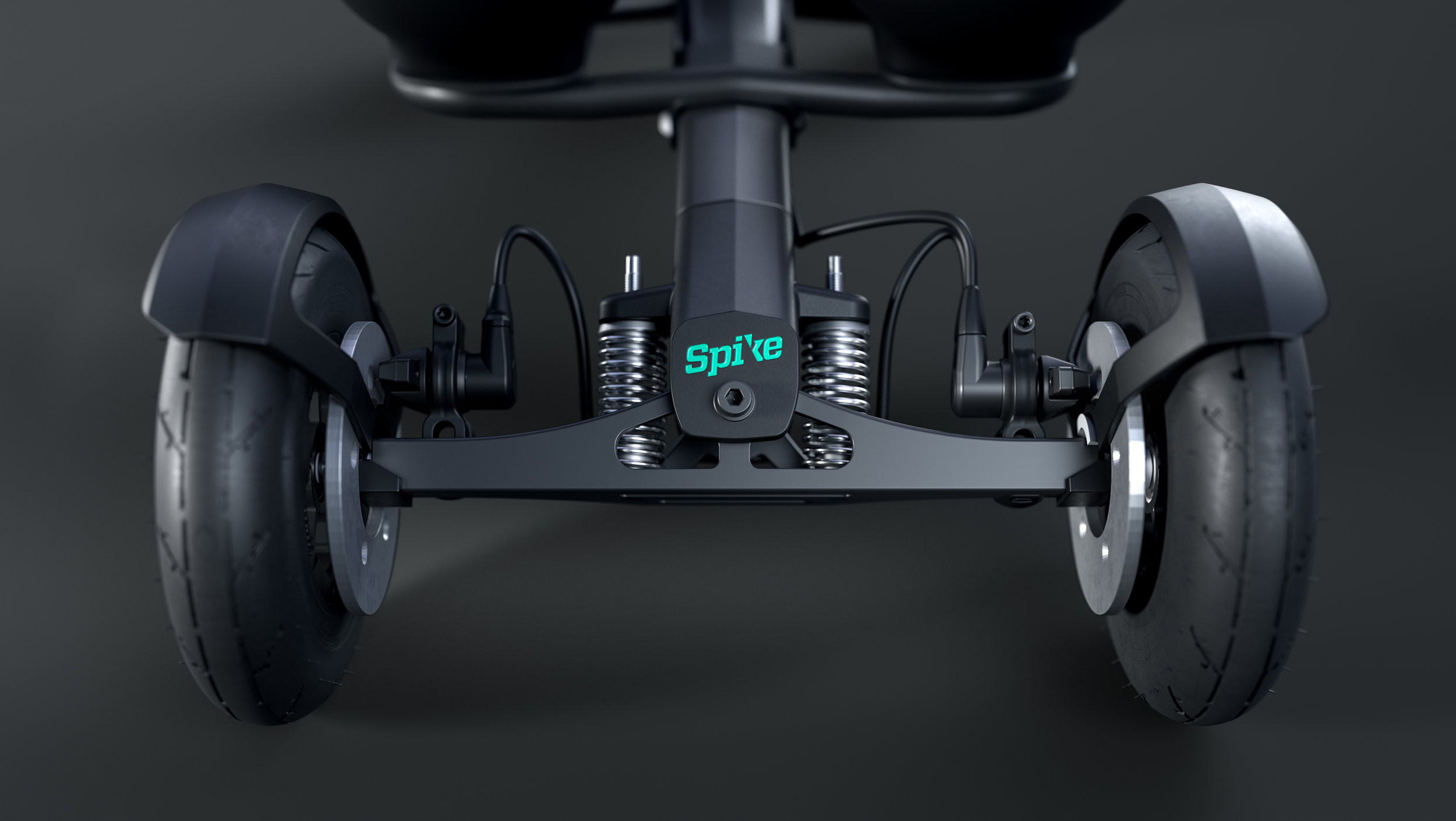 STEERING SYSTEM - With Spike you can steer by moving your upper torso to each side while generating forward propulsion with ski poles. If you have uneven weight distribution or are stronger on one side, this can easily be adjusted.