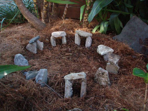 tiny stonehenge