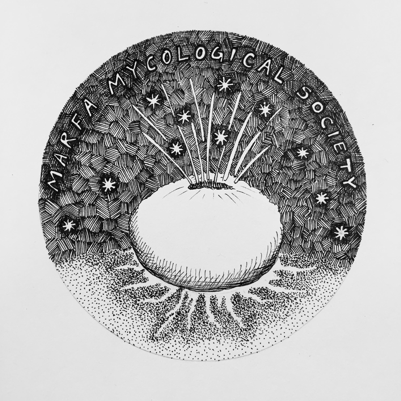 Marfa Mycological Society logo