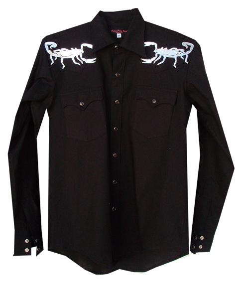 scorpions snap shirt