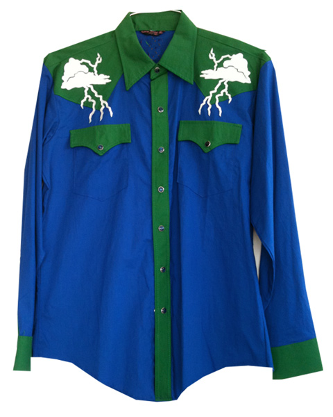 thunderclouds snap shirt